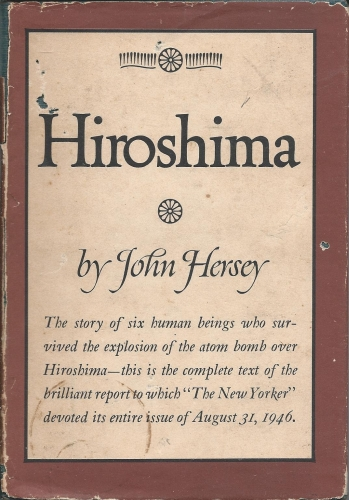 john hersey s hiroshima review Review: when the atomic bomb was dropped on hiroshima, few could have anticipated its potential for devastation pulitzer prize-winning author john hersey recorded the stories of hiroshima residents shortly after the explosion and, in 1946, hiroshima was published, giving the world first-hand accounts from people who had survived it.